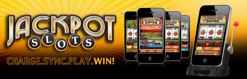 jackpot slots slot machine charge and sync dock for iphone and ipod
