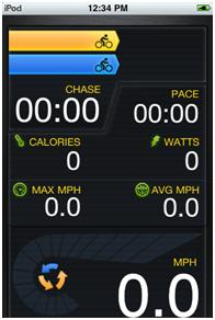 Chase Rider Features for Liverider Cycling Computer